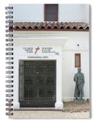 The Friars Crypt Spiral Notebook