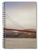 The Frisco Bridge Spiral Notebook