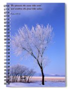 The Frost Like Ashes Spiral Notebook