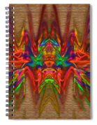 The Fruit Of Apophysis Spiral Notebook