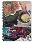 The Full Moon2 Spiral Notebook