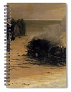 The Funeral Of Shelley Spiral Notebook