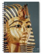 The Funerary Mask Of Tutankhamun Spiral Notebook