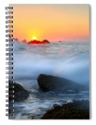 The Fury Of The Sea Spiral Notebook