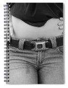The G M Belt Spiral Notebook