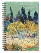 The Garden At Arles  Spiral Notebook