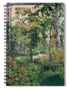 The Garden At Bellevue Spiral Notebook
