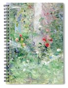 The Garden At Bougival Spiral Notebook