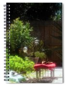 The Garden Bench Spiral Notebook