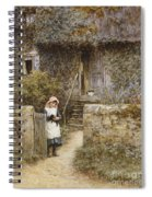 The Garden Gate Spiral Notebook