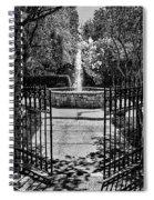 The Garden Gate Spiral Notebook