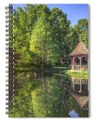 The Garden Gazebo Spiral Notebook