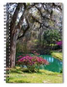 The Garden In The Abbey Spiral Notebook