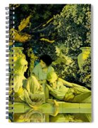 The Garden Of Allah Spiral Notebook