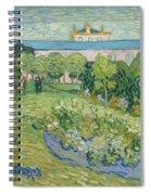 The Garden Of Daubigny Spiral Notebook
