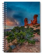 The Garden Of Eden Spiral Notebook