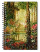 The Garden Of Enchantment Spiral Notebook