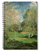 The Garden Of Hoschede Family Spiral Notebook