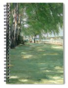 The Garden Of The Artist In Wannsee Spiral Notebook