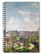 The Garden Of The Tuileries Spiral Notebook