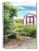 The Garden Shed Spiral Notebook