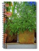 The Garden Shelf Spiral Notebook