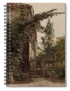The Garden Steps Spiral Notebook