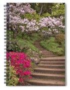 The Garden Steps Spiral Notebook