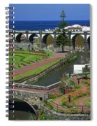 The Gardens Of Ribeira Grande Spiral Notebook