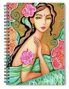 The Gaze Of Shalini Spiral Notebook