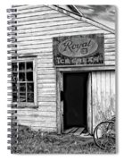The General Store Bw Spiral Notebook