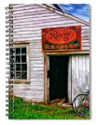 The General Store Painted Spiral Notebook