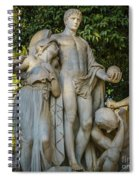 The Genius Maria Luisa Park Seville Spain Spiral Notebook