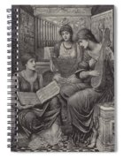The Gentle Music Of The Bygone Day Spiral Notebook