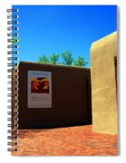 The Georgia O'keeffe Museum In Santa Fe Spiral Notebook