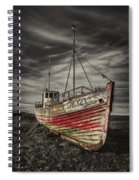The Ghost Ship Spiral Notebook