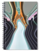 The Ghostly Ghost Spiral Notebook
