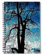 The Ghostly Tree Spiral Notebook