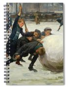 The Giant Snowball Spiral Notebook