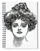 The Gibson Girl Spiral Notebook