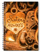 The Gift Of A Sister Spiral Notebook