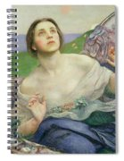 The Gift Of Sight Spiral Notebook