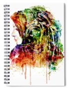 The Girl Is A Dj Spiral Notebook