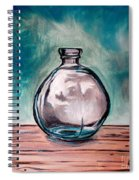 The Glass Bottle Spiral Notebook