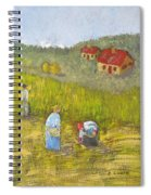 The Gleaners Spiral Notebook