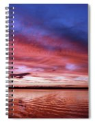 The Gloaming Of Lac Vieux Desert Spiral Notebook