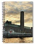 The Globe Theatre London Spiral Notebook