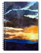 The Glory Of The Sunset Spiral Notebook