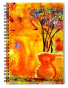The Glow Of Joy Spiral Notebook
