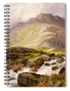The Glyder Fawr  Spiral Notebook